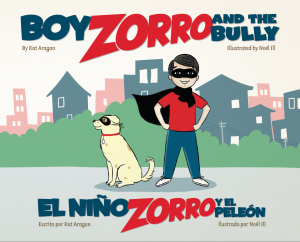 Children's Bilingual Book -- Boy Zorro and the Bully